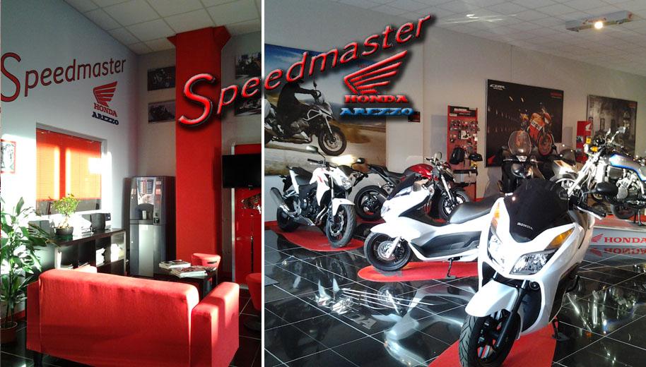 speedmaster concessionaria moto honda arezzo